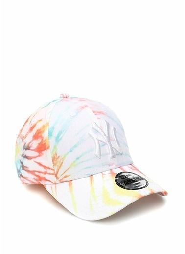 New Era New Era 9Forty Batik Desenli Unisex Çocuk Şapka 101608388 Beyaz